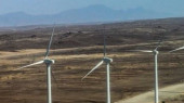 Wind mills at Loyangalani area in Turkana County